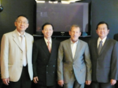 Visit TECRO in Warsaw, and meet with Representative David Yi-min Liu