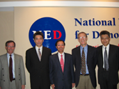 Visited NED and its affiliates at Washington, DC