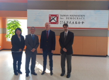 Visit of Director Rolf Frei, Trade Office of Swiss Industries