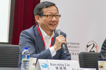 "【""Participatory Budgeting in Taiwan: A Dialogue from Within and Without"" International Conference】Prof. Kuo-ming Lin from NTU spoke in roundtable."