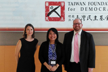 Visit of Chief and Officer of Political Section of American Institute in TaiwanPrint