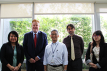 Visit of Mr. Ulrich Niemann, Head of Division International Politics, Friedrich Naumann Foundation for Freedom, Germany