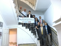 Group photo from all participants from Arab Spring: Retrospect and Prospect workshop