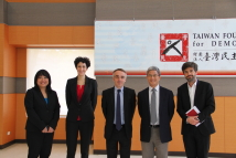 Visit of Mr. Benoit GUIDEE, the Director of French Office in Taipei