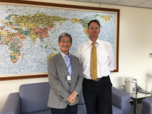 Visit of Mr Richard Neumann, Acting Representative of Australian Office in Taipei