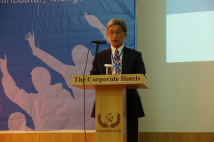 TFD President Hsu, Szu-chien delivered his opening remarks.