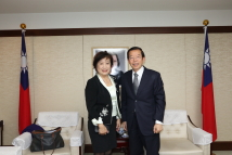 Visiting Taipei Economic and Cultural Office in Japan
