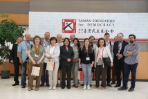 The International Press Group of Taiwan's Political and Economic Development Visits the TFD