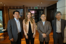 2019/02/27~03/01_TFD visits major democratic and human rights NGOs in Argentina_Group photo: from left to right, President Fort Liao, Director of Carolina Maccione, Ambassador Antonio C. T. Hsieh and Dr. T. J. Cheng
