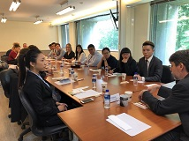 Visit of the 2019 Boise State University Taiwan Summer Programs Delegation