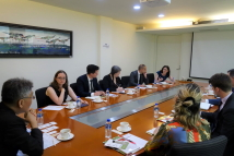 Visit of Delegates of the Parliamentary Assistant to MP of Canada