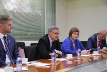 Visit of  Lithuanian and Latvian Joint Parliamentary Delegation photo-1