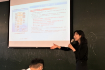 Seminar by Ms. Naoko Sunai, Doctoral Dissertation Research Fellow of TFD