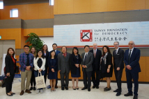 The Delegation of EU-TW Judicial Exchange Programme visited the TFD