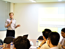 Seminar by Dr. Pavel Doubek, Postdoctoral Research Fellow of TFD